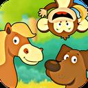 جنگل شاد الفبا - سرگرمی آموزش کودک