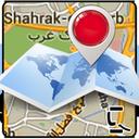 نقشه ایران و جهان