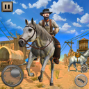 West Cow boy Gang Shooting : Horse Shooting Game