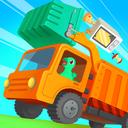 Dinosaur Garbage Truck - Games for kids
