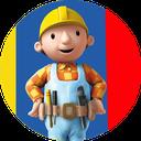 رنگ آمیزی کودکانه بابی مهندس