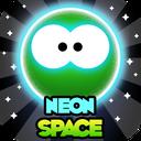 Neon Space Bubbles