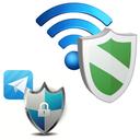 نگهبان هک وای فای و تلگرام