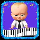 آموزش پیانو با بچه رئیس