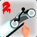 Stickman Racer Road Draw 2 Heroes