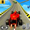 Formula Car Sky Tracks GT Racing Stunts- Car Games
