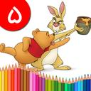 کتاب رنگ آمیزی - پو خرس عسلی ۵
